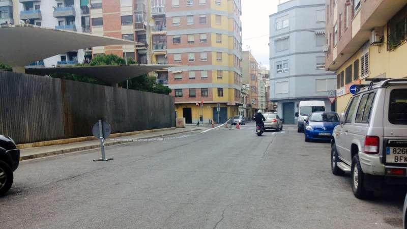 Imagen de la calle Vázquez Mella del municipi.