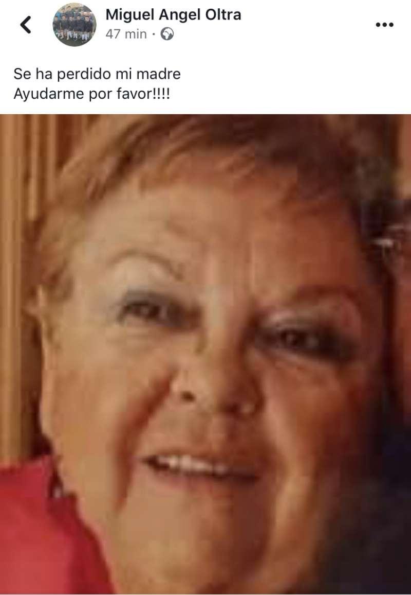 Imagen de la mujer desaparecida. EPDA