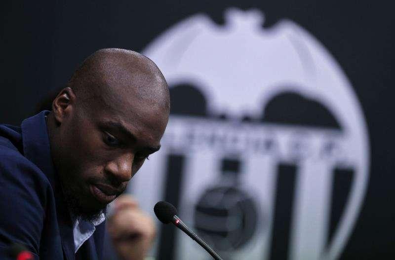 El centrocampista francés del Valencia Geoffrey Kondogbia. EFE/Archivo