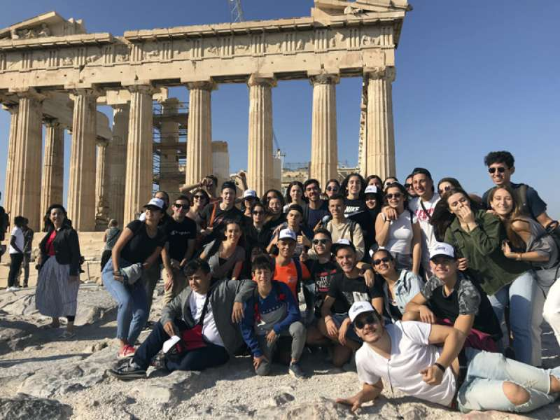 Visita a Grecia. EPDA