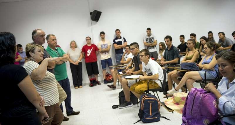 Inauguración del curso en la Escuela de Capataces de Catarroja.
