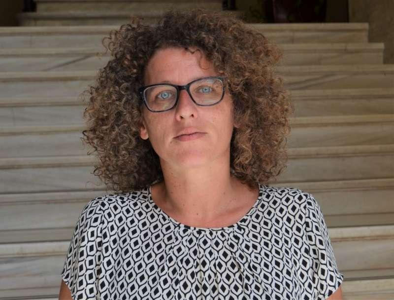 Mónica Caparrós delegada de los Servicios Sociales en Sagunto.EPDA