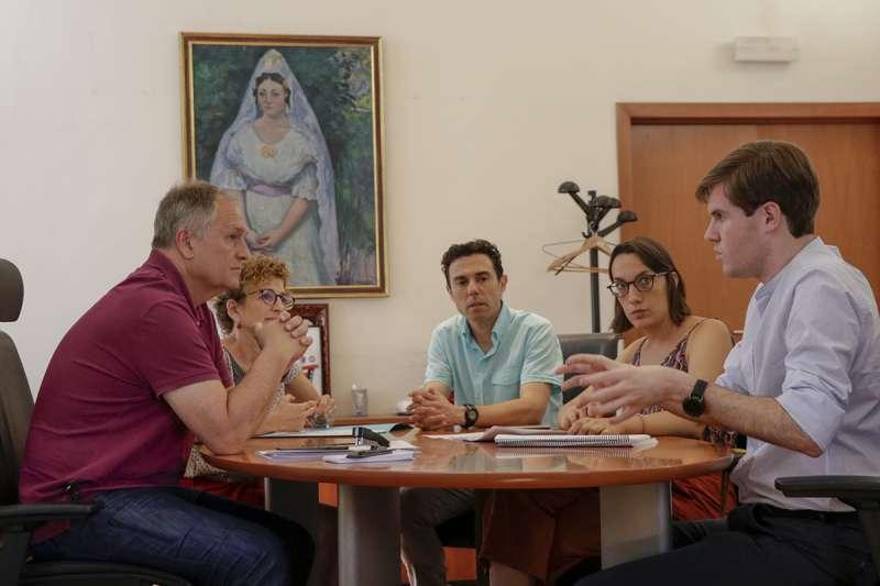 Visita a Llíria del director general de Inclusión Social.