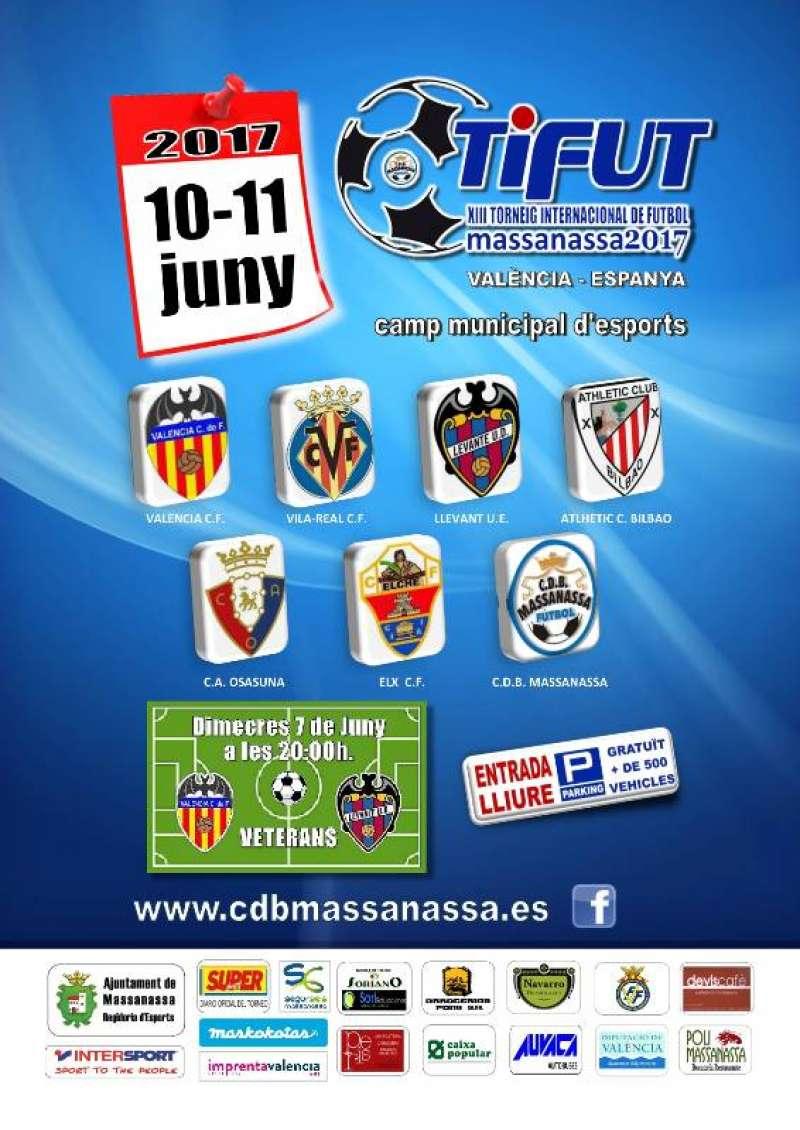 Cartell del XIII Torneig Internacional Futbol de Massanassa. EPDA