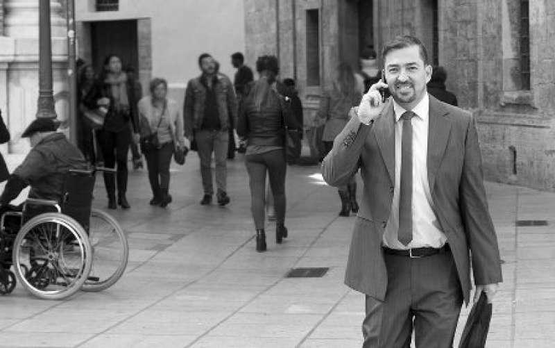 El periodista Pere Valenciano. EPDA