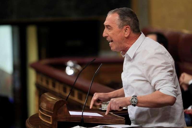 El diputado de Compromís en el Congreso, Joan Baldoví. EFE/Fernando Alvarado/Archivo