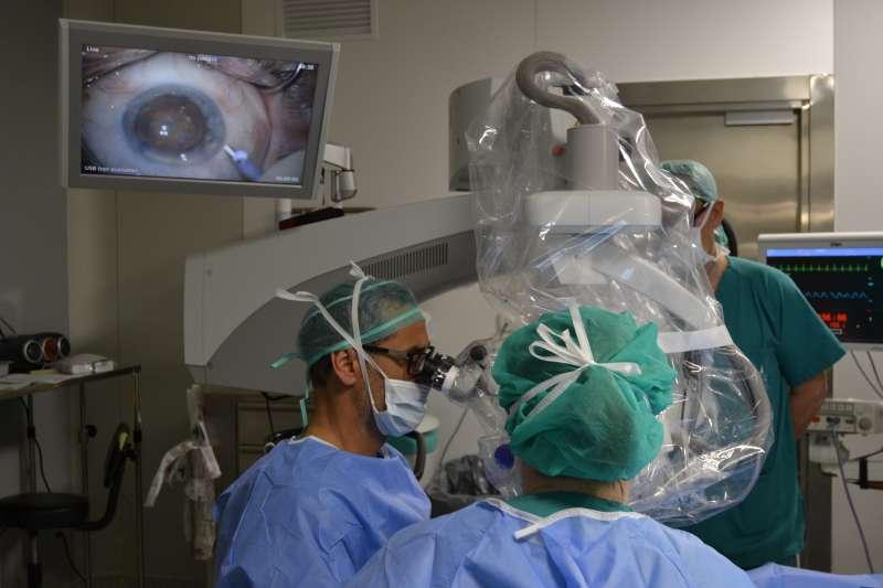 La Unidad de Retina del Servicio de Oftalmología del Consorci Hospitalari Provincial de Castelló. EPDA