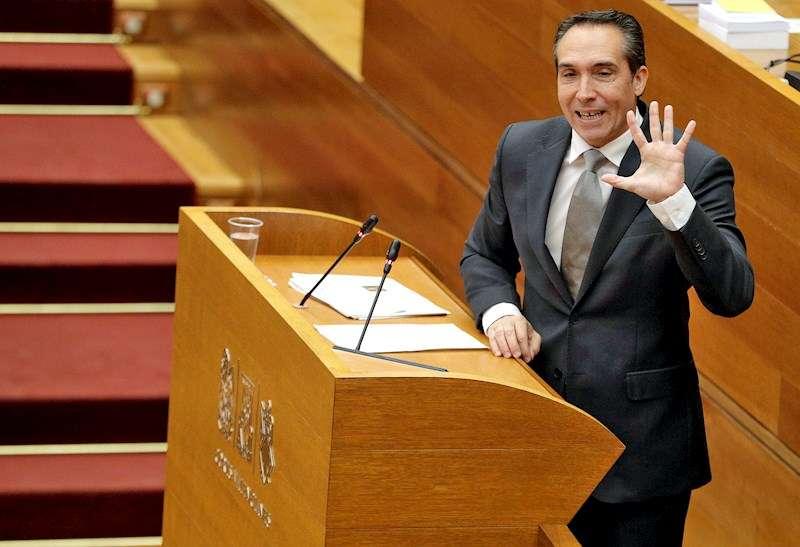 El vicesecretario general del PP de la Comunitat Valenciana, Rubén Ibáñez. EFE