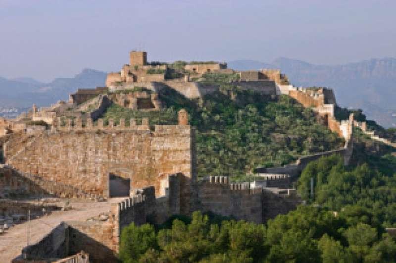 Imagen de archivo del castillo de Sagunt. EPDA