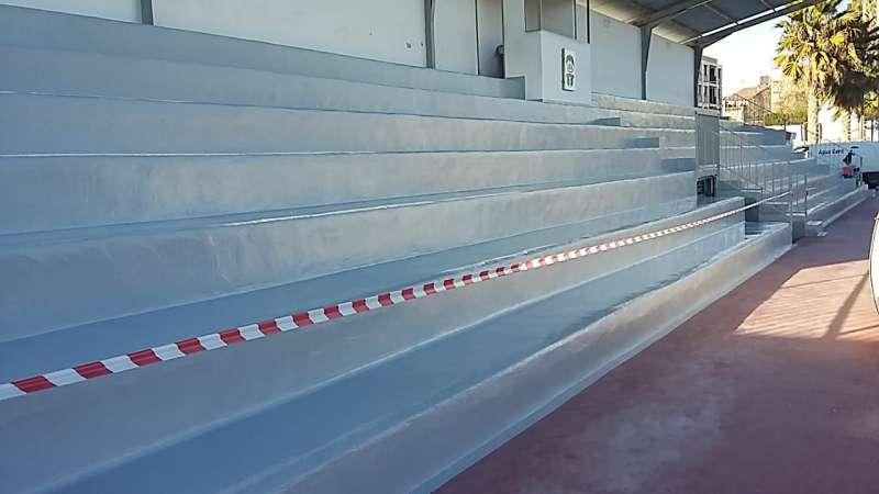 Polideportivo Cabanes. EPDA
