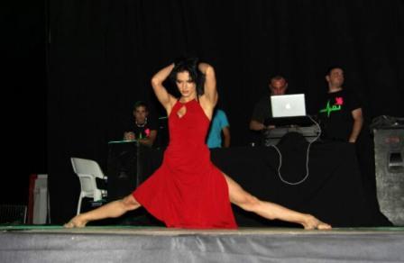 La bailarina y coreógrafa ucraniana, Irina Stepanova. FOTO: EPDA