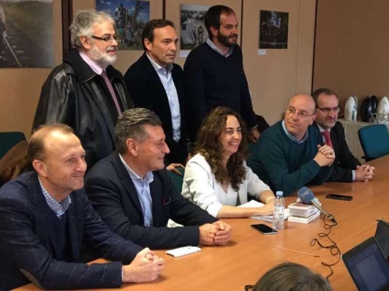 Cargos institucionales críticos con la deriva de Ciudadanos capitaneados por Carolina Punset. FOTO EPDA