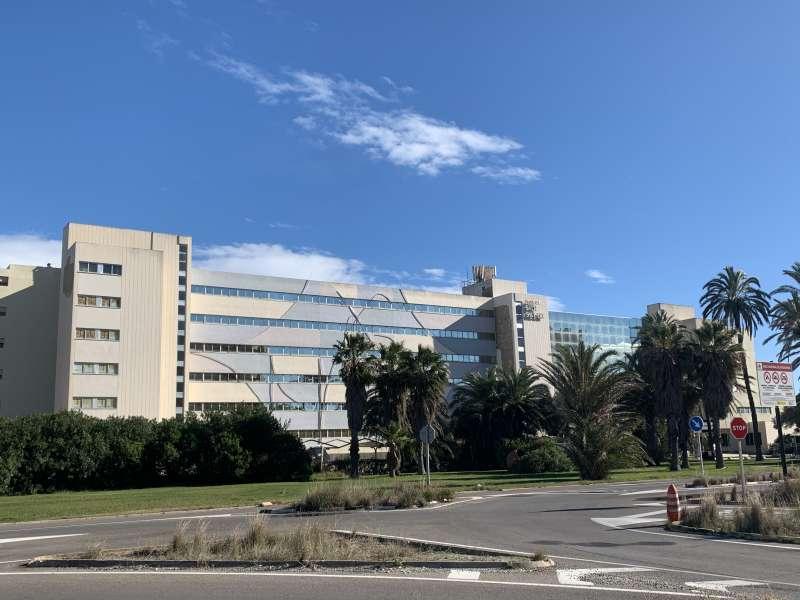 El histórico Hotel Sidi Saler. EPDA