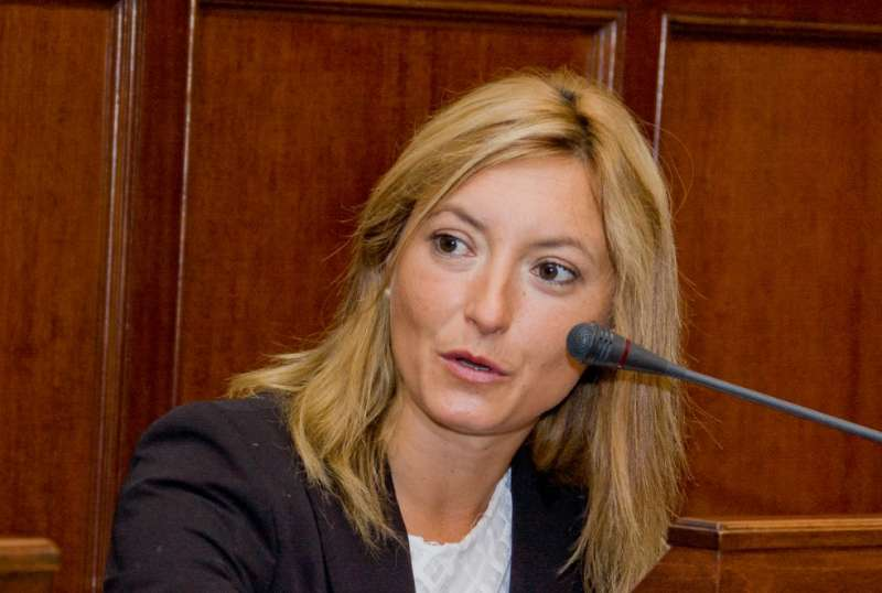 La diputada por Ciudadanos, Cristina Gabarda. EPDA