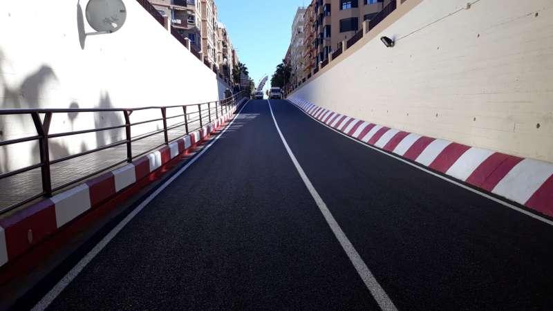 Final de les obres en el túnel de la Avenida Reyes Católicos de Alfafar. -EPDA
