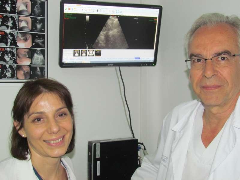 El jefe de servicio de neumología y responsable de esta unidad técnica, el doctor Juan José Soler.