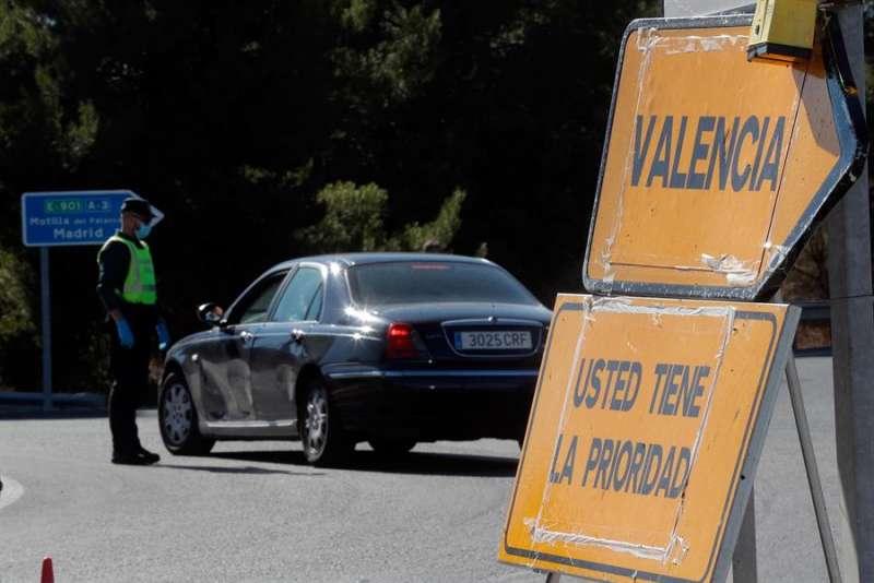 La Comunitat Valenciana inicia este mediodía y durante una semana su confinamiento perimetral. EFE