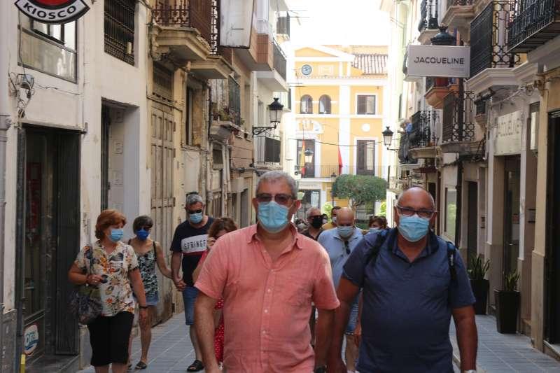 Las mascarillas son fundamentales para evitar contagios. Foto archivo