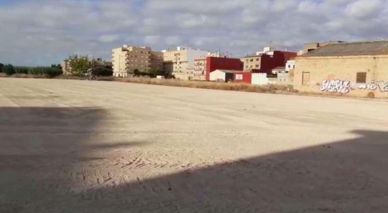 Parking Barraques, Catarroja./ EPDA