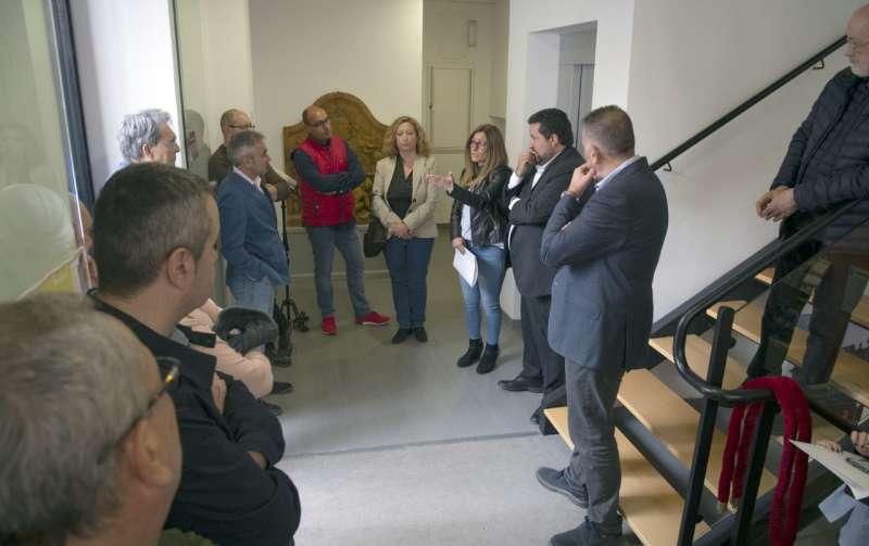 Moliner y Barrachina en el Museo de Manolo Rodríguez