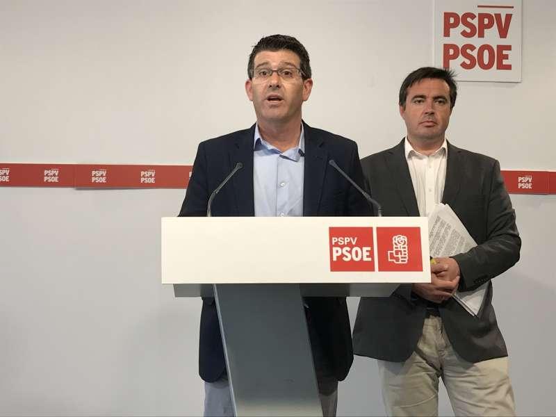 Jorge Rodríguez y Herick Campos.