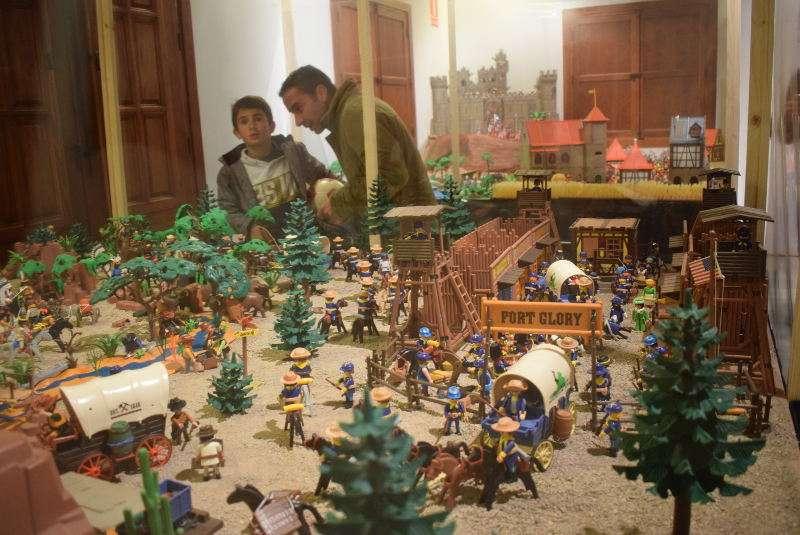 Exposición de Playmobil en Benetússer. EPDA