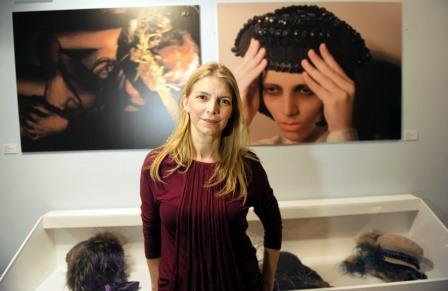 La artista Cristina de Salazar. Foto EPDA