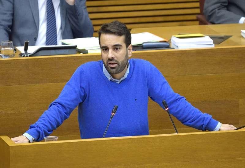 El secretario de Organización del PSPV-PSOE, Jose Muñoz - EPDA