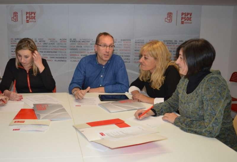 Grupo de trabajo de Igualdad de la Ejecutiva Provincial. PSPV-PSOE