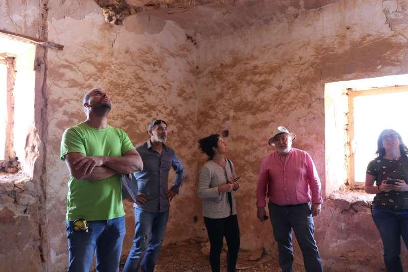 Visita del concejal de Urbanismo y Patrimonio con los técnicos. EPDA