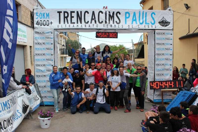 Los participantes del Trail Morvedre. EPDA