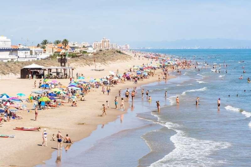 Playa del Dosal de Cullera