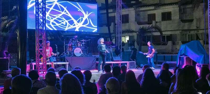 El concert en La Pobla de Farnals. EPDA.