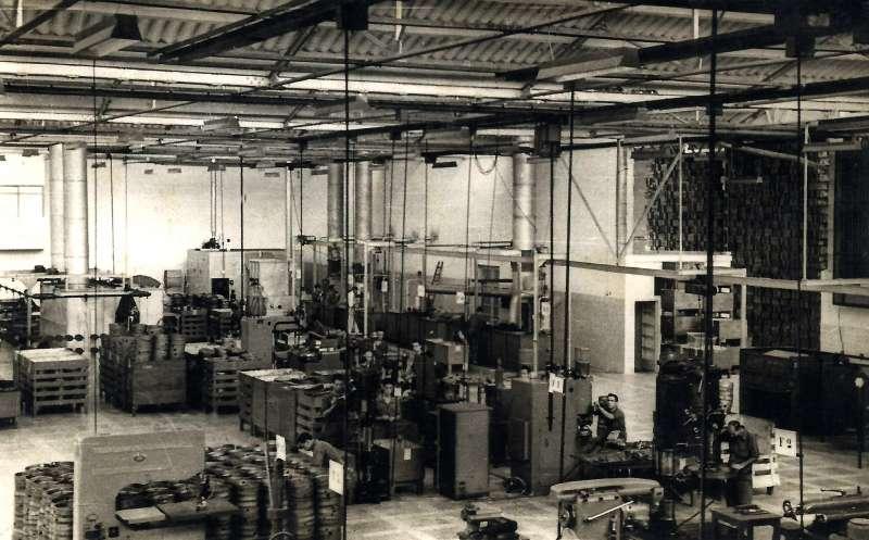 Instalaciones de la fábrica Cointra. EPDA