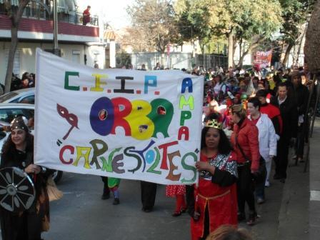Imagen del pasacalles. Foto: EPDA.