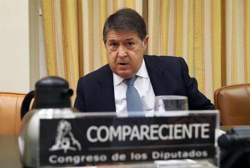 El exvicepresidente de Bankia y expresidente de Bancaja José Luis Olivas.EFE