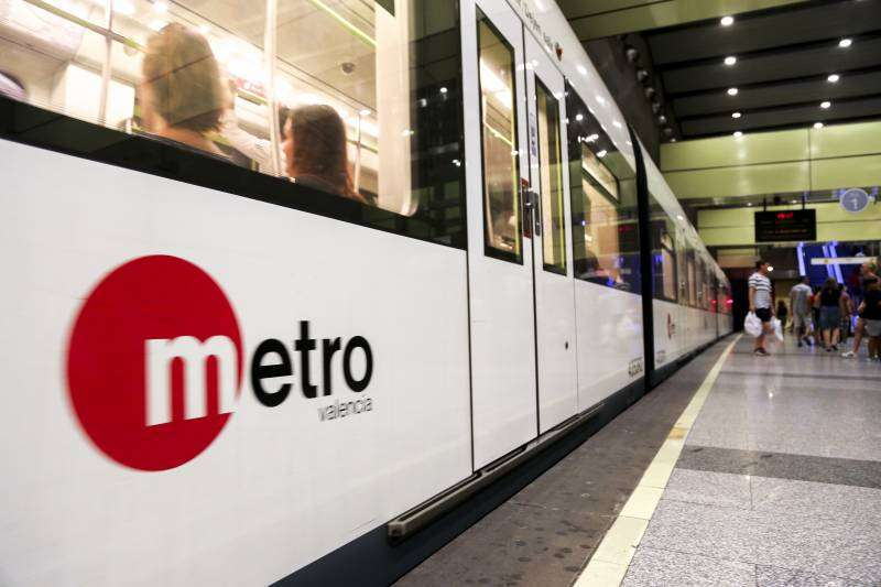 Imagen del metro.