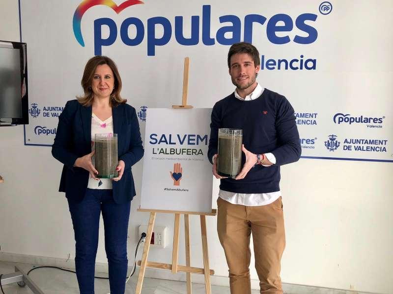 María José Catalá y Juan Carlos Caballero. EPDA