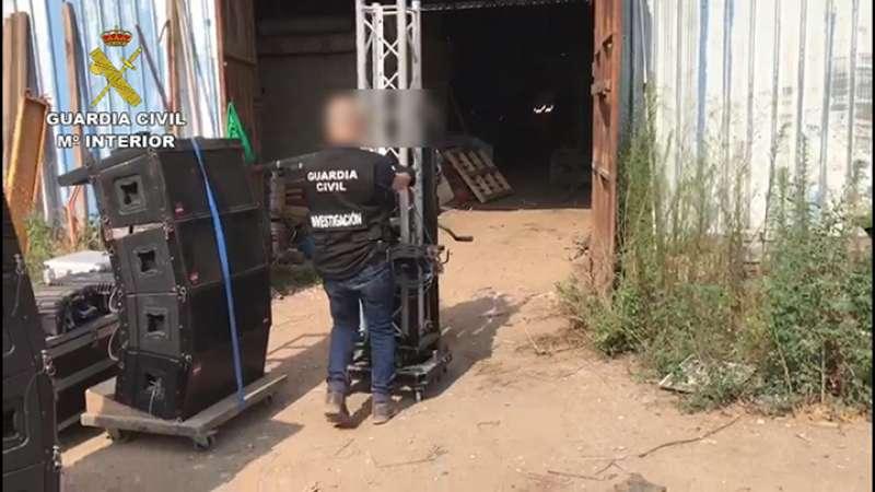 Detienen a 11 personas implicadas en robos con fuerza por valor de 380.000 euros en la provincia de Valencia