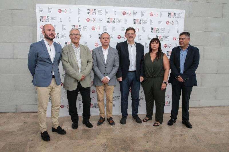 Puig y Ribó en el aniversario de UGT