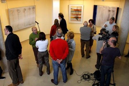 Exposición en la Casa de Cultura. Foto: EPDA.
