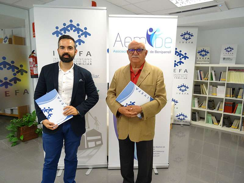 Leonardo García y José Bernardo. EPDA.