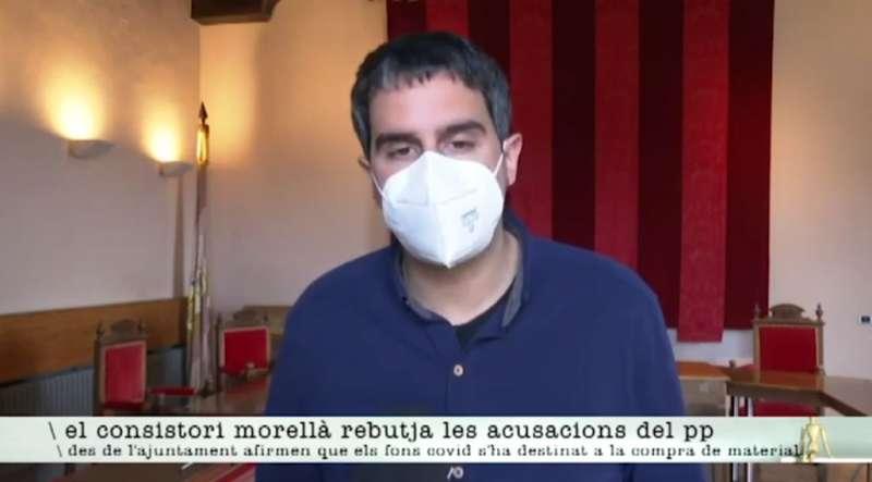 Rhamsés Ripollés alcalde de Morella. EPDA