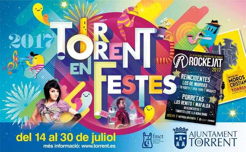 Cartell de festes de Torrent. EPDA