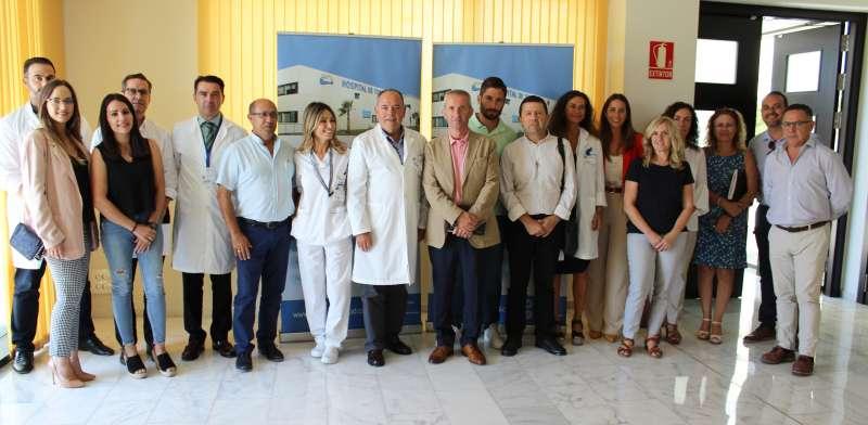 Directivos del área de salud. EPDA