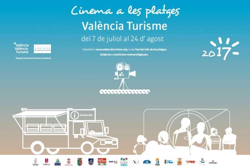 Cinema a les platges.