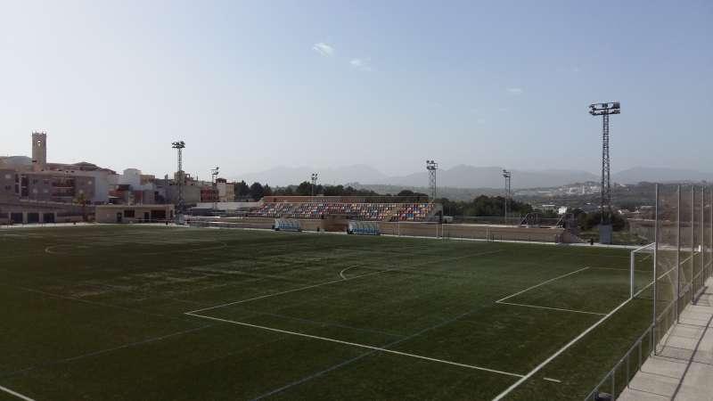 La Ciutat Esportiva de Teulada, con la instalación de 24 focos proyectores LED