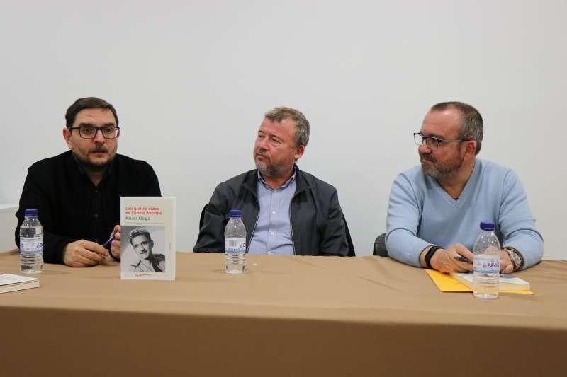 Gómez, Fernández y Tarazona, en la presentación. EPDA