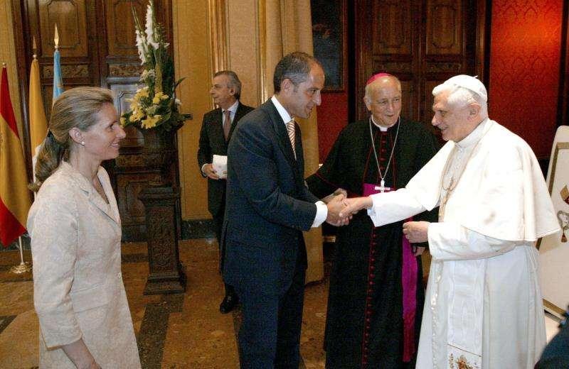 Imagen de la visita realizada a València en 2006. EFE/Archivo
