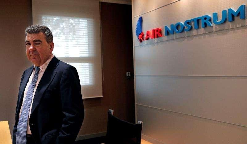 El presidente de Air Nostrum, Carlos Bertomeu. EFE/Archivo